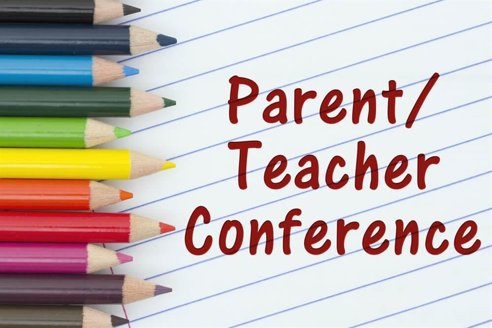 Parent-Teacher Conferences Wednesday-Friday, October 21-23, 2020