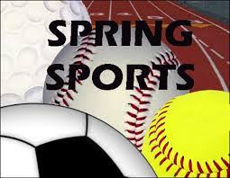 Spring Sports Begin Monday, March 2, 2020
