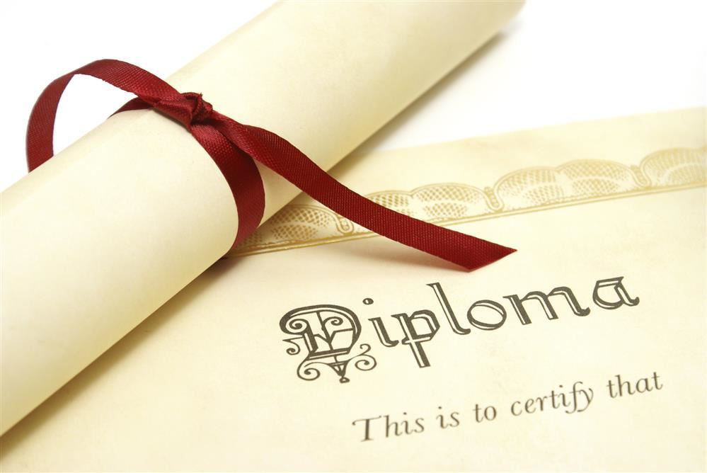 Diploma Cards for Seniors