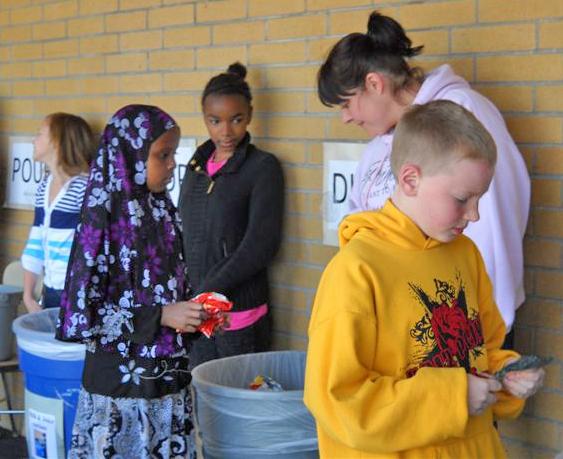 Angi Jeffries Earth Hero at School Award