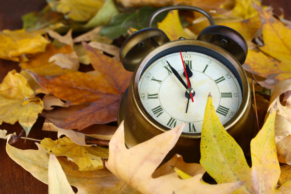 Daylight Savings Ends Sunday, November 4, 2018