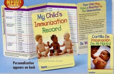 Your Child's Immunization Record is available here
