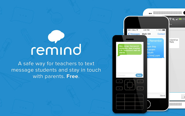 Remind app available for text messages