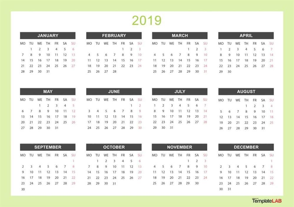 2019-20 District Calendar