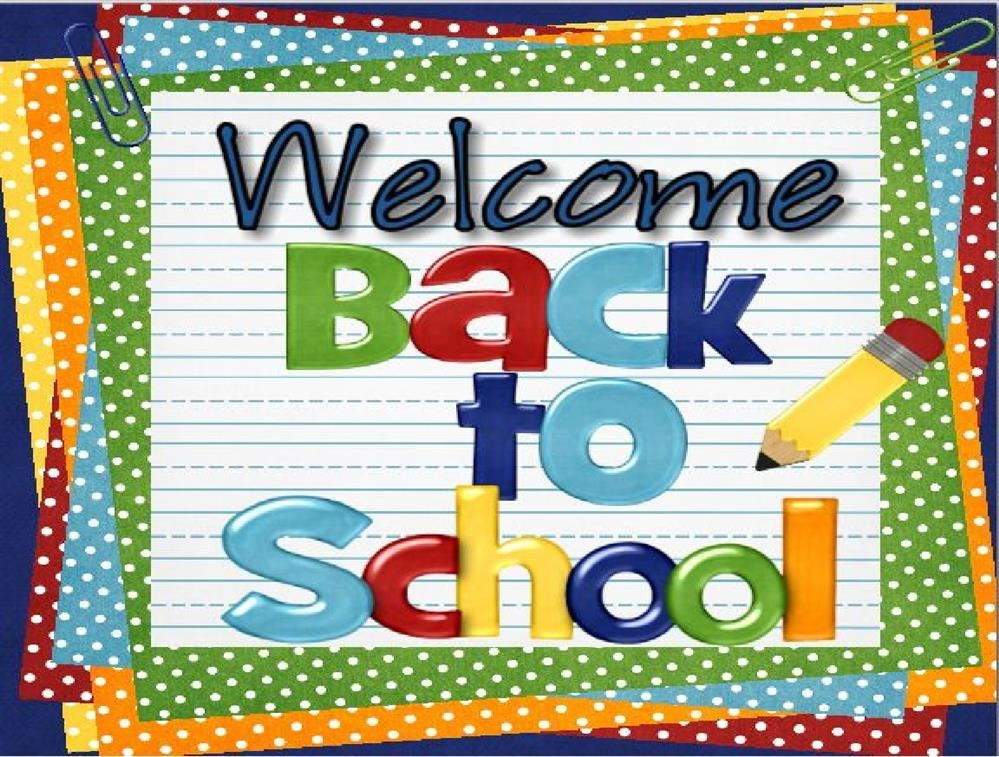 Welcome Back to School letter from our new principal, Mr. Weibel
