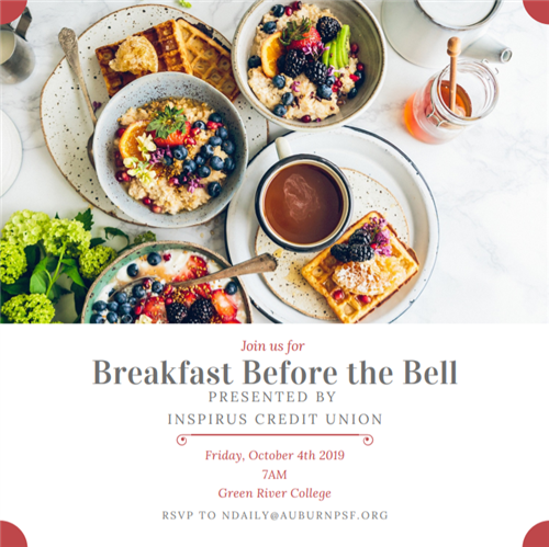 Breakfast invitation