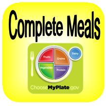 Choose a Complete Meal