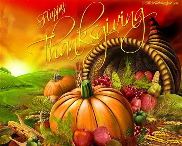 Thanksgiving Vacation School Closed Nov 26-27