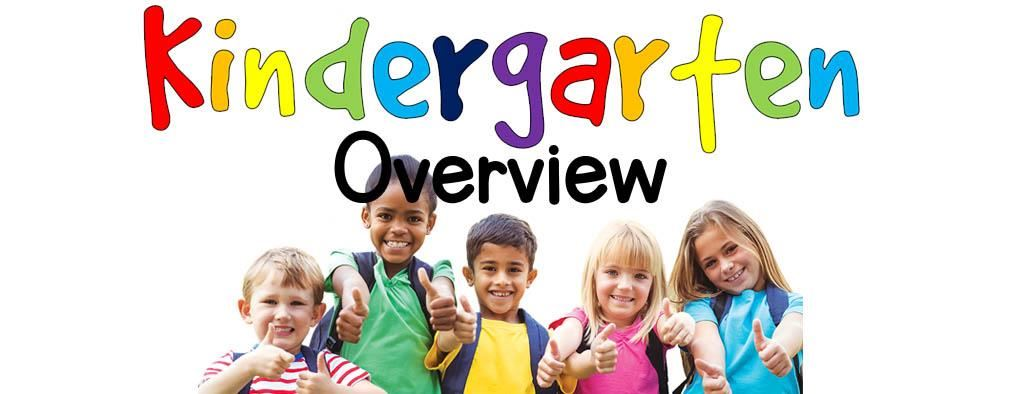 Kindergarten Overview Header