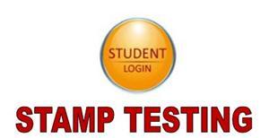 Stamp testing